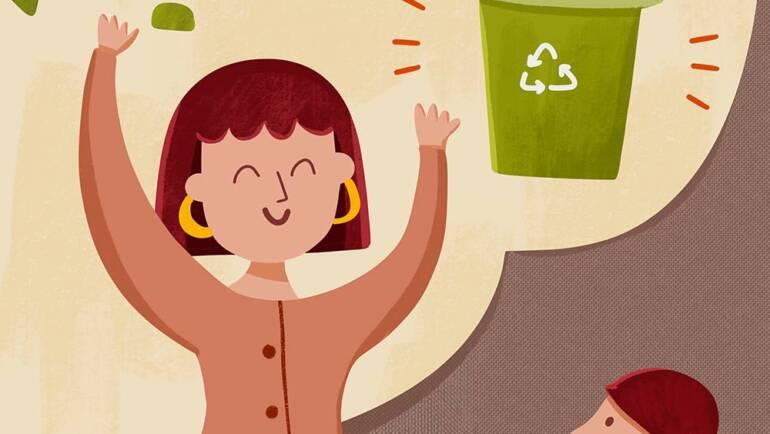 Imparare a prenderci cura dell'ambiente.